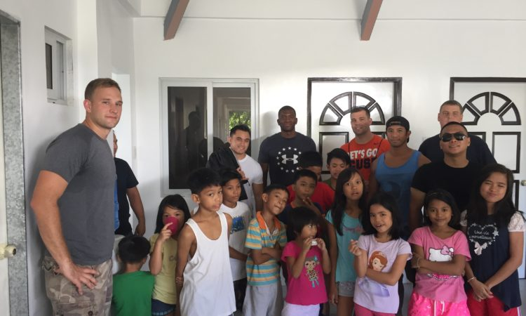 U S Military Unit Helps Children In Angeles City